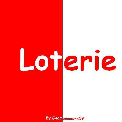 Jeux 4 : La Loterie