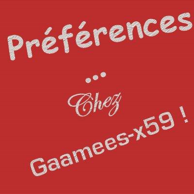 Jeux 7  : Le Jeu des Préférences