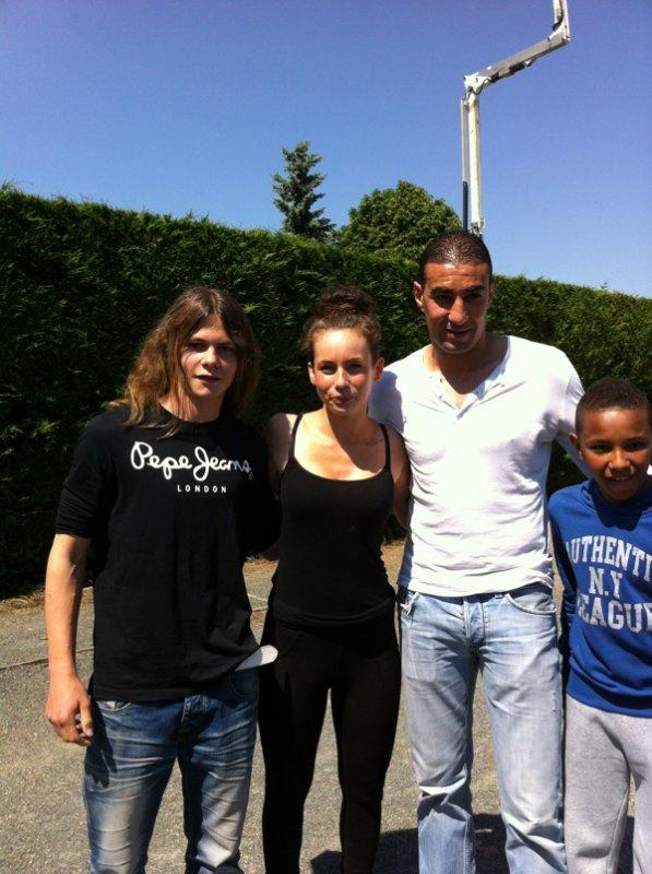 Moi,Juliette de SS5, Madani Armi et mon gars sur ! :)