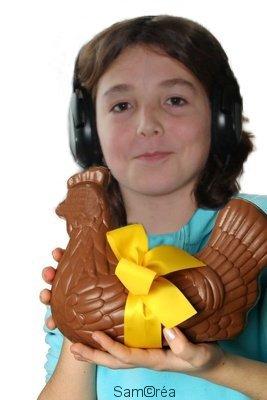 Aujourd'hui, fête du chocolat