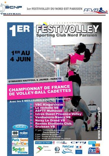 HAMS sera en Concert  au FESTIVOLLEY @ Paris le mercredi 1 JUIN  à partir de 18H00 !!