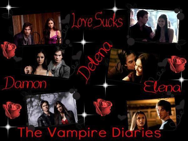 Damon et Elena <3