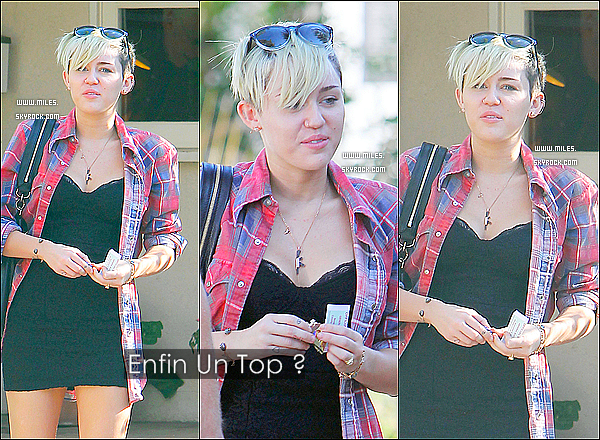 06/11/2012 -  Miss Miley Cyrus se rendait au bureau de vote pour les élections américaine. Alors enfin un top pour elle ^^ Miley a voté pour le président sortant, B. Obama qui a remporté les élections. Félicitations a il