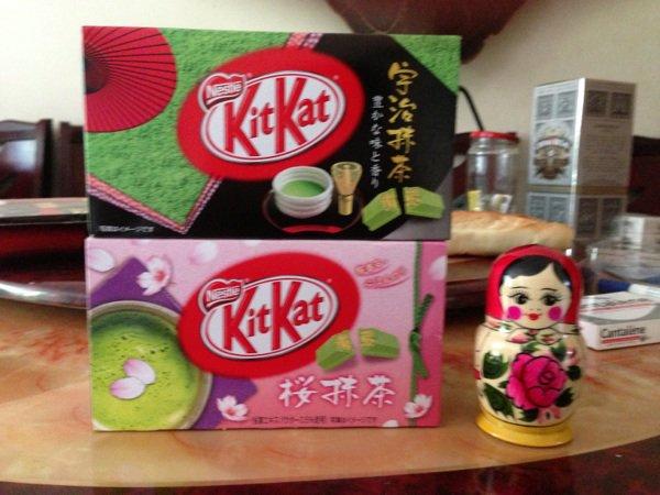 Pics pour Shan de Kit Kat japonais aux thé vert ~
