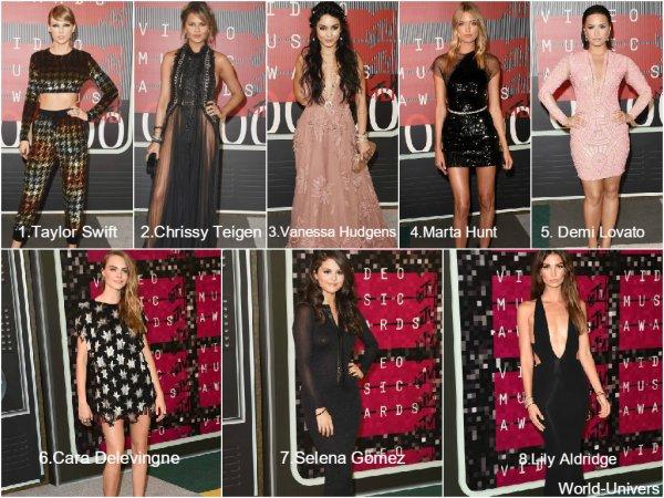 SPECIAL | Les meilleurs looks des VMA's 2015. ♥