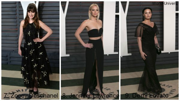 PHOTOS | Vanity Fair Party 2016 - Meilleures tenues. ♥