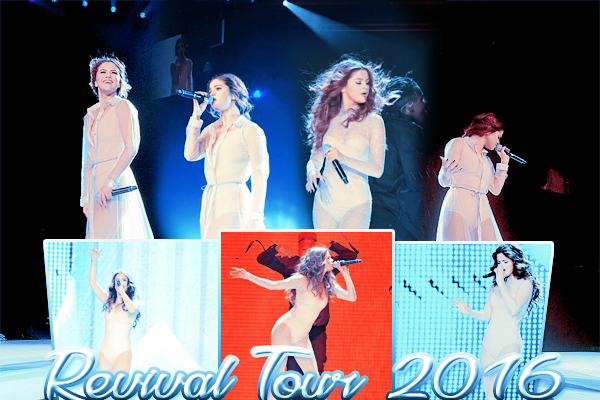 TOUR | Revival Tour 2016 ! ♥