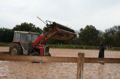 Nicolas Touzaint au Domaine Equestre des Bertrands