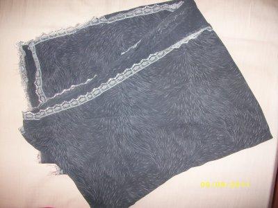Jean Gris Taille S PIMKI ,Tunique/robe Neuf,Foulard Gris  Propose ton prix