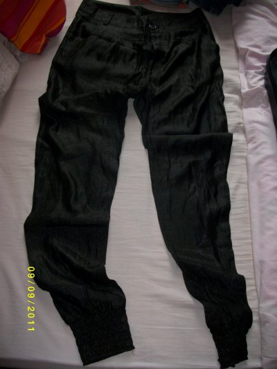 Pantalon Noir, Gris et Pantalon a Pince Mango Maron Propose ton prix