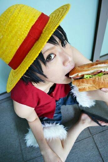 Cosplay de Luffy
