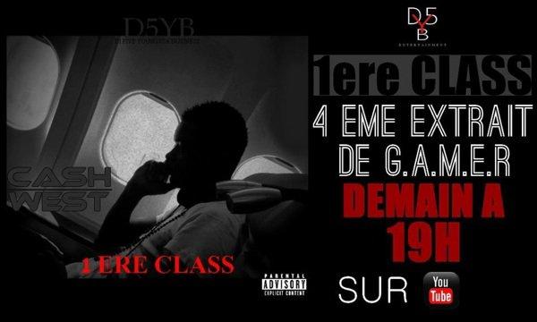 1ÈRE CLASS 4 eme EXTRAIT de G.A.M.E.R  CE SOIR SUR YOUTUBE