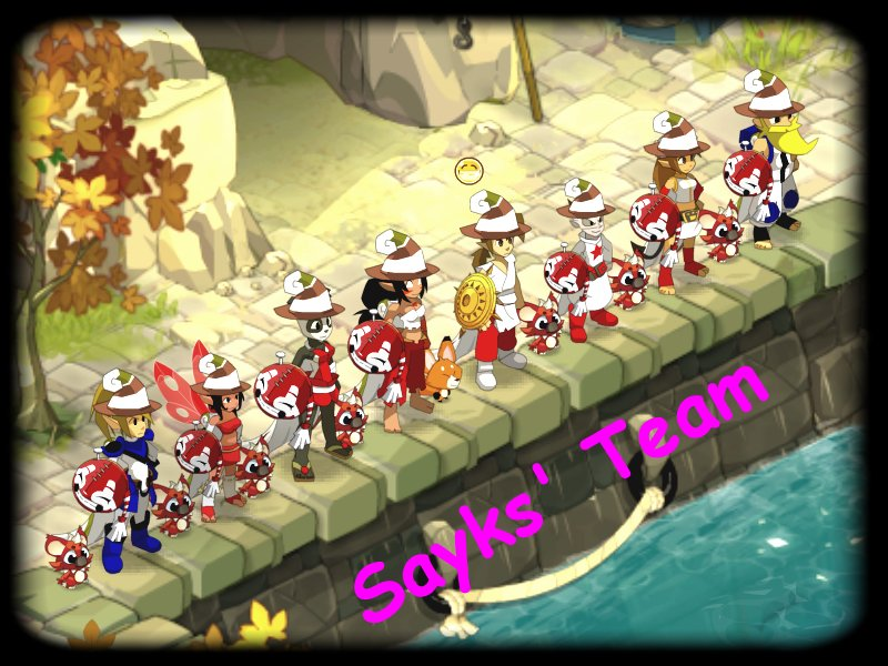 Sayks' Team à votre service.