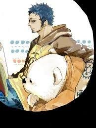 Mon perso préféré de One Piece : Trafalgar Law !!!><