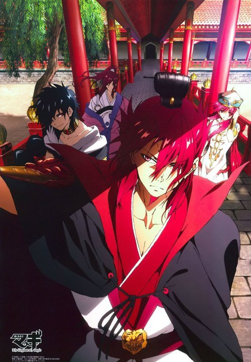 Mon top 6 des bg de Magi the labyrinth of magi !!!