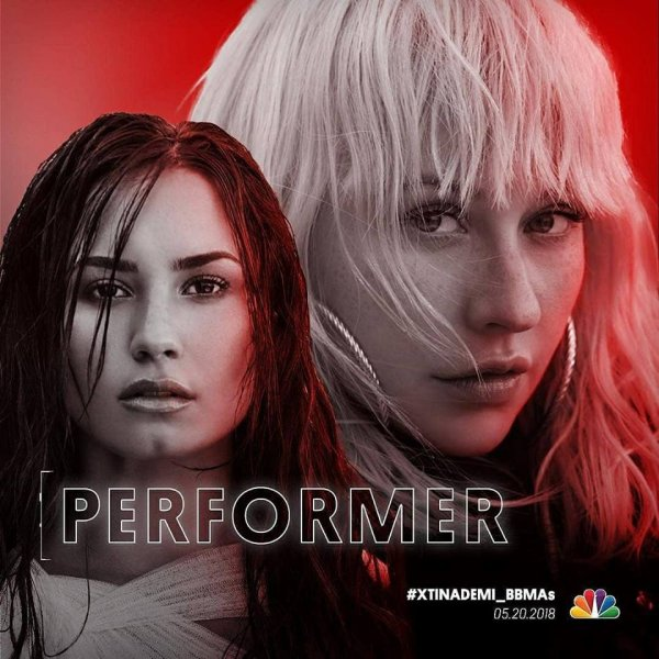 Xtina et Demi perfermeront le titre Fall in line [/g ] le 20 mai aux Billboard Awards.