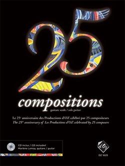 Un CD pour le 25ème anniversaire de Productions d'OZ
