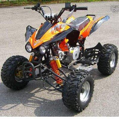 mon ancien quad 125