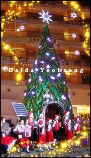Noël en Corée
