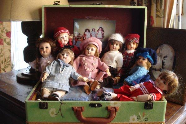 Photo de groupe....toujours dans la valise !
