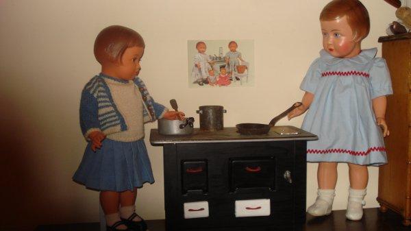 Mes petites cuisinnières...