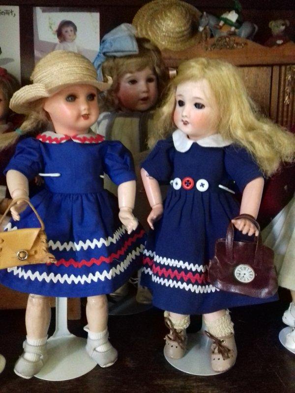 A croquer et Croquignolette ... pour Bleuette !