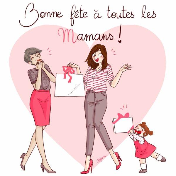 Bonne fête des mamans !