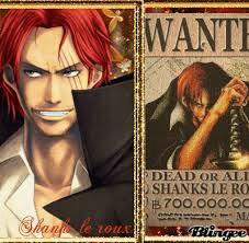 Shanks le roux ♥♡♥