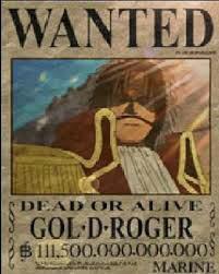 Gold roger roi des piirate