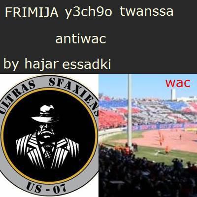 tifo wac derby 111 !!!!!?????