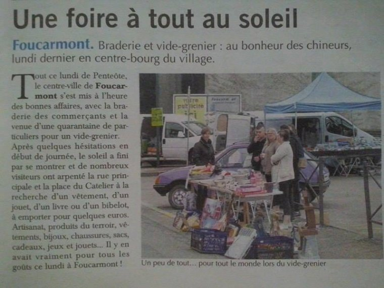 "Article Paru dans ""Le Paris Normandie"" du 18.05.2016"