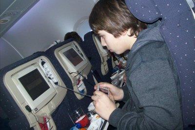 dans l'avion :p