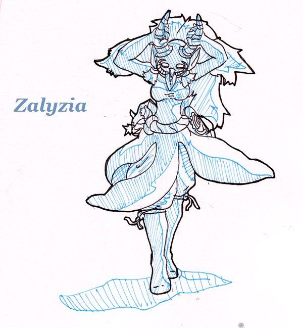 10) Zalyzia, la visite nocturne...