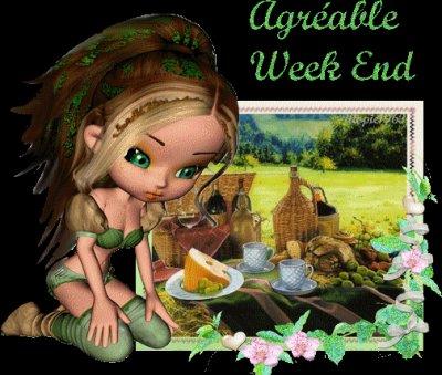 Bon wee-End les Anges .............