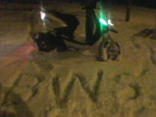petit delire dans la neige