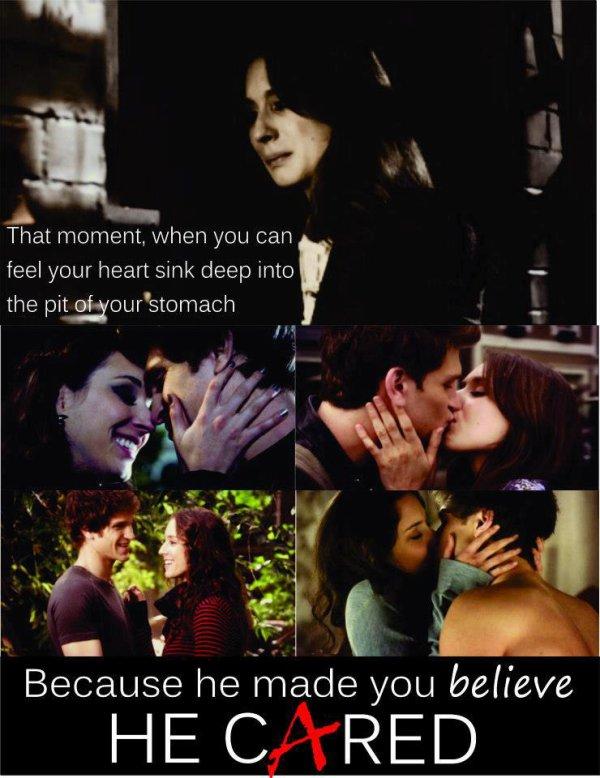 """""""Dis moi au revoir, mon amour. Le jeu est fini. Trouve toi une autre fille, une qui t'aimera au moins autant que moi, histoire qu'elle souffre comme j'ai souffert. Puisqu'au fond, c'est ça que tu aimes, n'est-ce pas ? C'est ce que vous faites tous."""""""