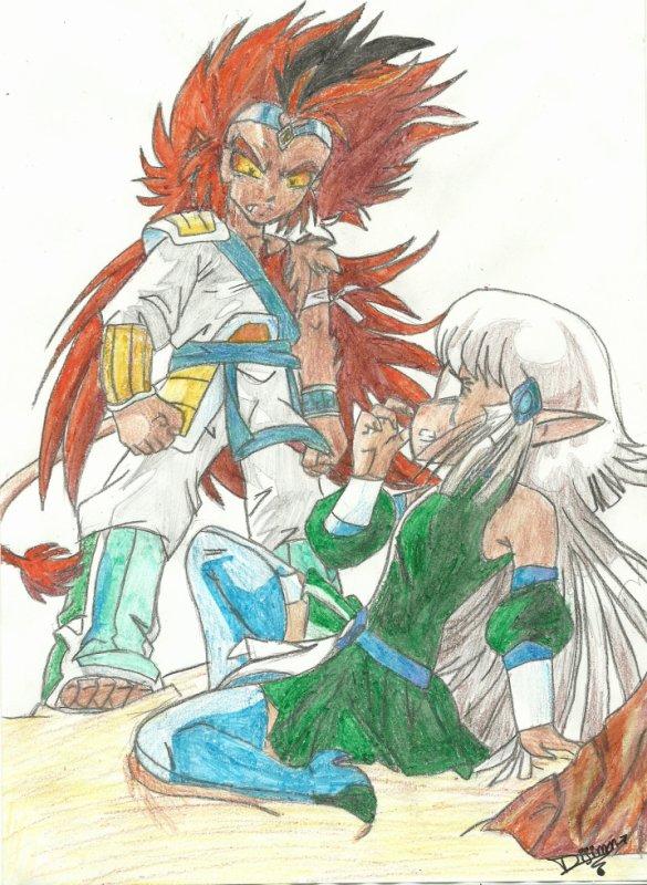 Les l gendaires tome 15 amour mortel o les dessins de dijimon - Coloriage des legendaires ...
