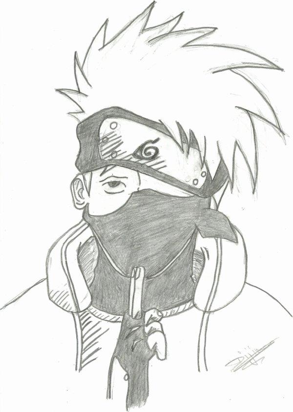 Kakashi De Naruto D Les Dessins De Dijimon