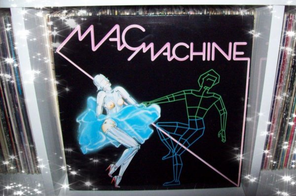 MAC MACHINE - MUTHERFUNKEN LP 1986 PPS RECORDS