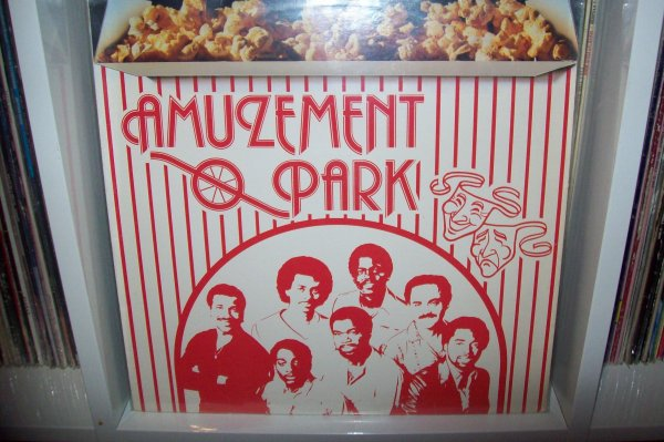 AMUZEMENT PARK - Same 1982 LP OUR GANG