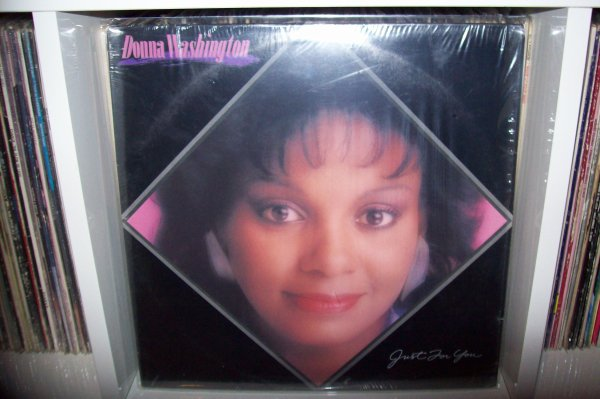 Donna WASHINGTON - You Can't Hide From The Boogie 1982 LP CAPITOL Records.