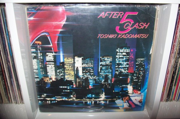TOSHIKI KADOMATSU- After Five Crash 1984 Lp RVC Corp.