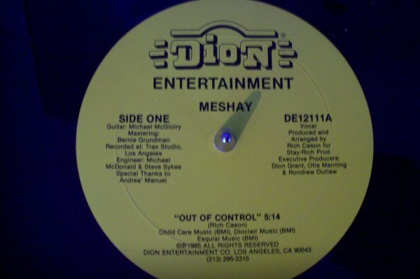 MESHAY - Out Of Control  1985 DION Entertainment.