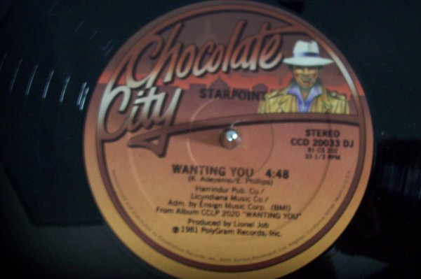 STARPOINT - Wanting You 1981 MAXI CHOCOLATE CITY