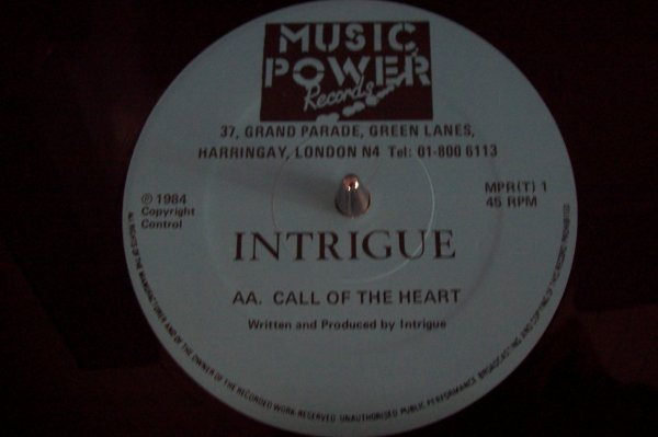 INTRIGUE - Call Of The Heart 1984 MUSIC POWER Records.