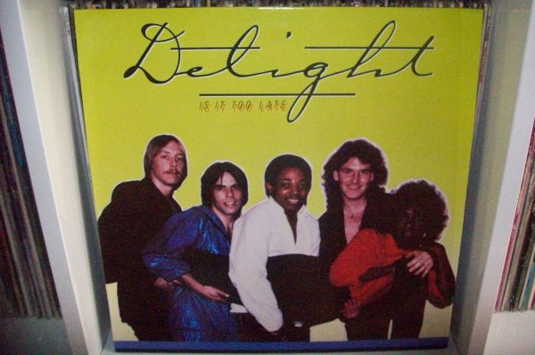 DELIGHT - Is It Too Late 1983 LP PATHE PUMA
