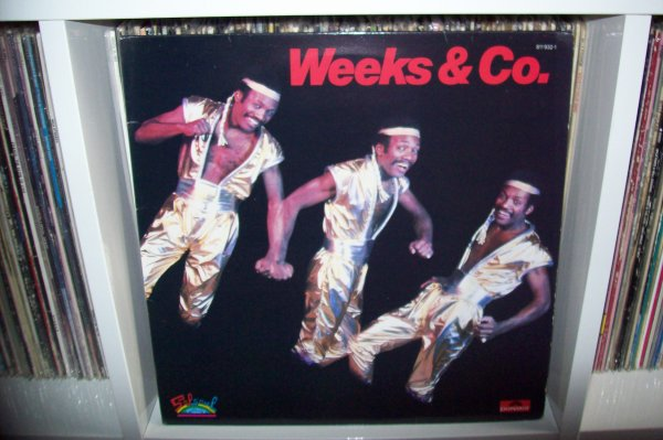 WEEKS & Co - Tunnel Of Love 1983 LP SALSOUL Records.