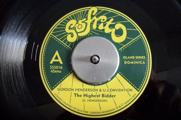 Gordon HENDERSON & U CONVENTION - The Highest Bidder 45 T