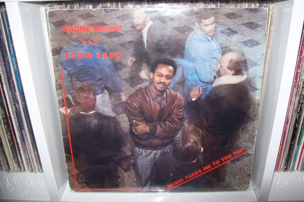 Jerome WALKER - Music Take Me To The Top 1987 LP RTB