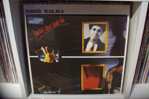 Didier MAKAGA - Minuit L'Heure Du Swing 1983 LP WEA Fr